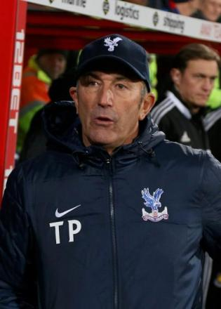 Gone: Tony Pulis has left Crystal Palace