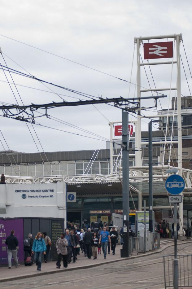 Croydon Guardian: The woman was attacked in East Croydon station