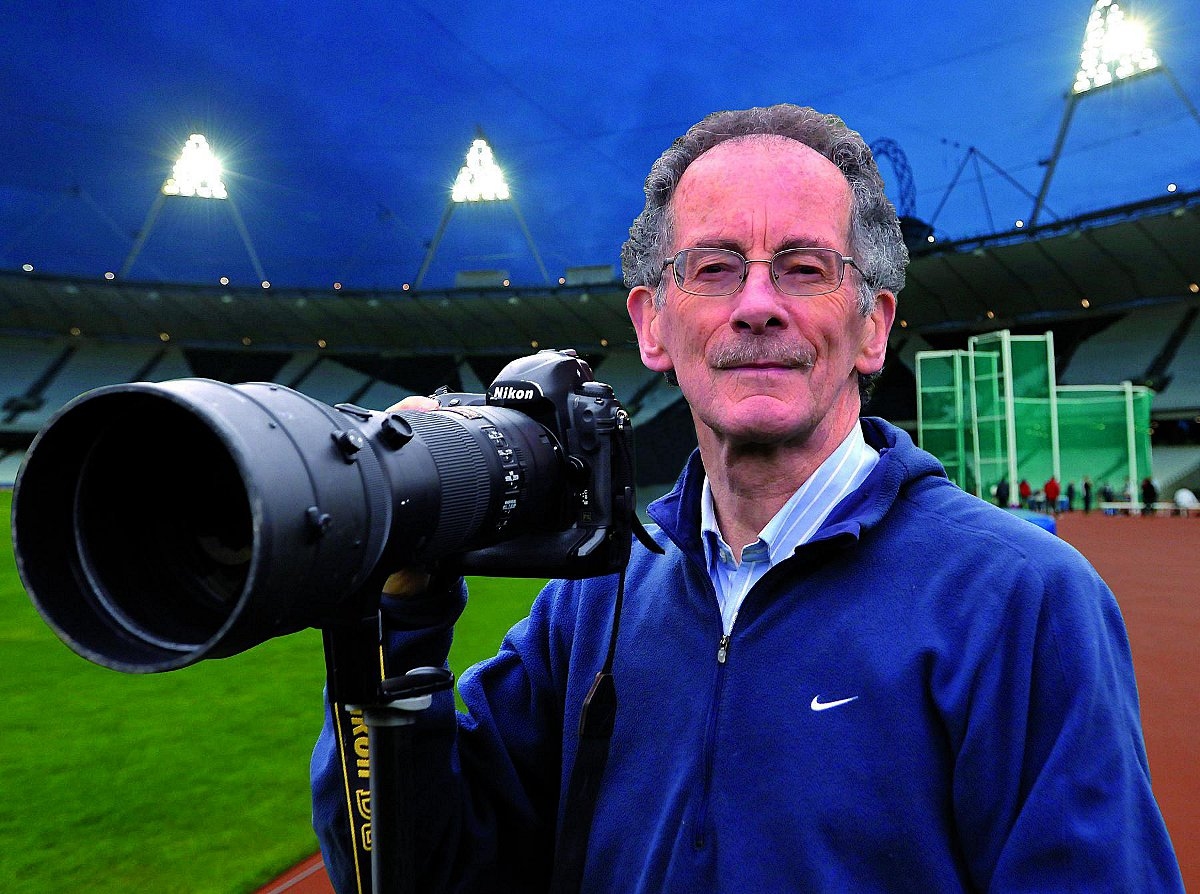 Top sports photographer honoured in New Year's Honours list