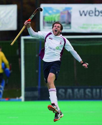 Up for glory: Ali Brogdon will be in the three Lions of England when the World Hockey League starts on Friday            Picture: David Kissman