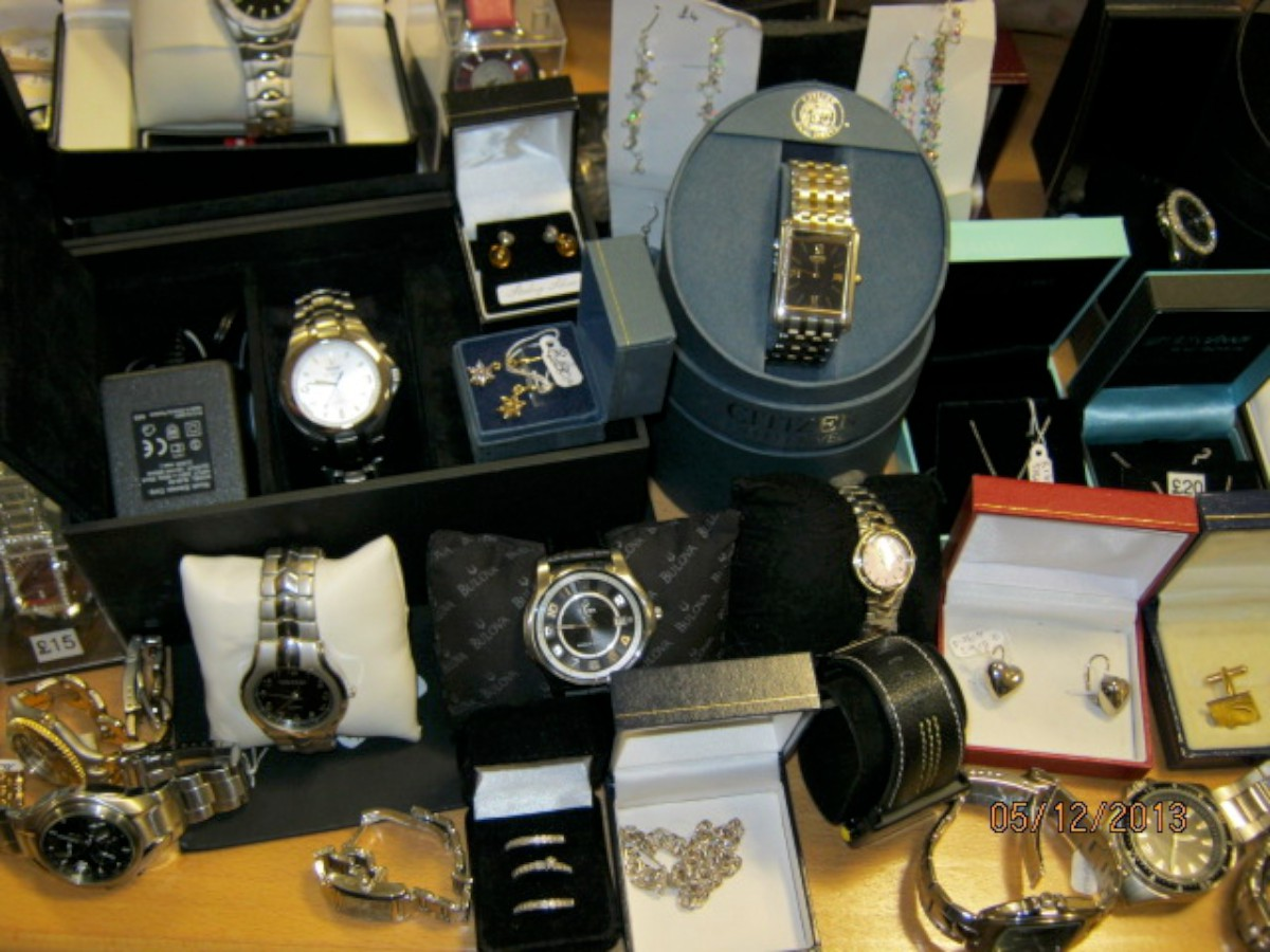 Huge haul of stolen jewellery recovered by police