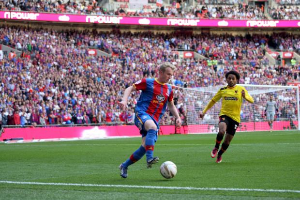 Big stage player: Jonny Williams has graced Wembley and the Welsh international team since making his debut for Crystal Palace in 2011