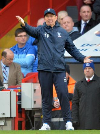 Tony Pulis will be pitting his wits against Wenger this afternoon.