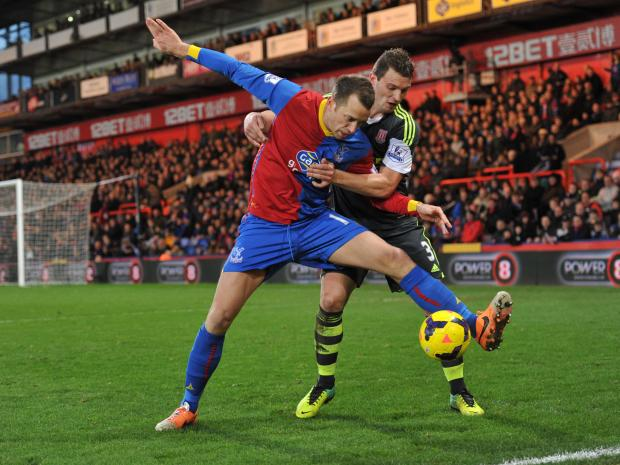 Croydon Guardian: Aaron Wilbraham came off the bench against Stoke. PICTURE BY KEITH GILLARD.