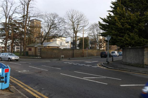 The junction of Pawsons Road and Queens Road where the fight took place