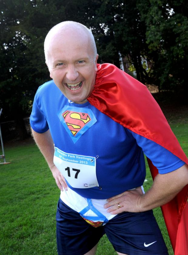 Croydon Guardian: Is it a bird? Is it a plane? No, it's Superman on the Y-Front Run
