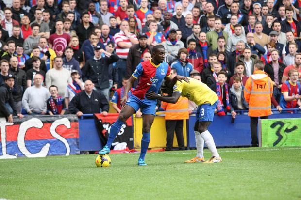 Attracting interest: Yannick Bolasie has thrived under Tony Pulis, and it has not gone unnoticed abroad