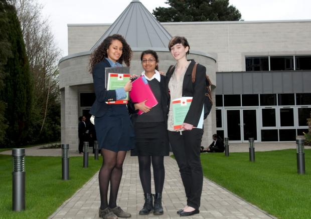 Students at Coloma Convent Girls' School are well prepared for GCSEs