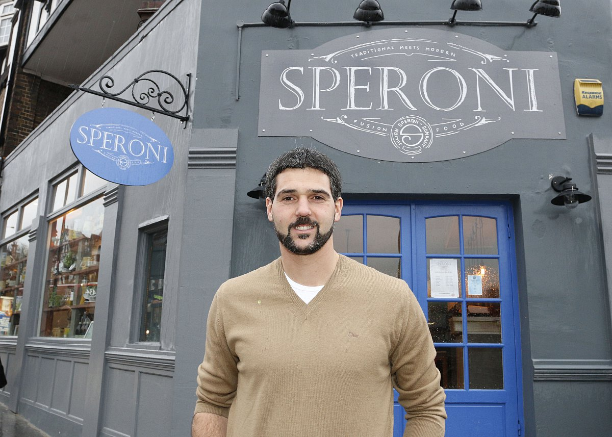 Palace keeper Speroni opens new restaurant in Purley