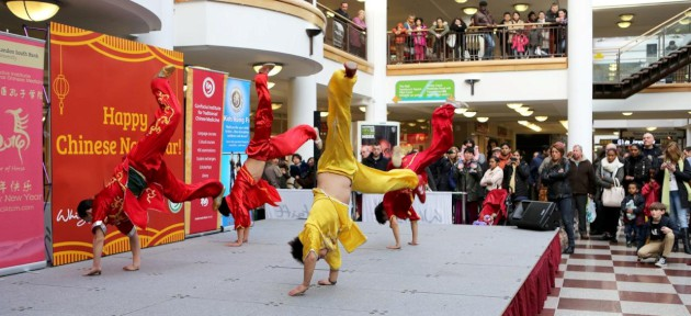 Croydon Guardian: Chinese New Year in the Whitgift Centre, Croydon. Picture copyright: GLENN FOSTER PHOTOGRAPHY