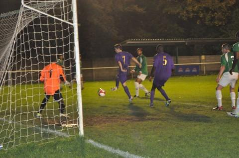 Susceptible: Whyteleafe's Church Road pitch could be ripped up on the final day of this season