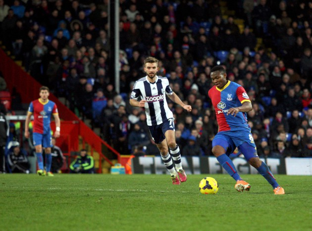 Croydon Guardian: Photos from the Premier League clash between Crystal Palace and West Bromwich Albion at Selhurst Park - February 8, 2014
