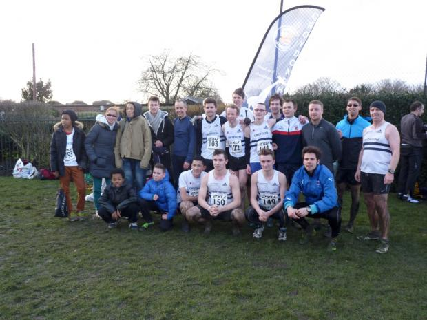 Croydon Guardian: Winners: Croydon Harriers men finished second overall to win promotion to the top flight of the 2XU Surrey cross-county league