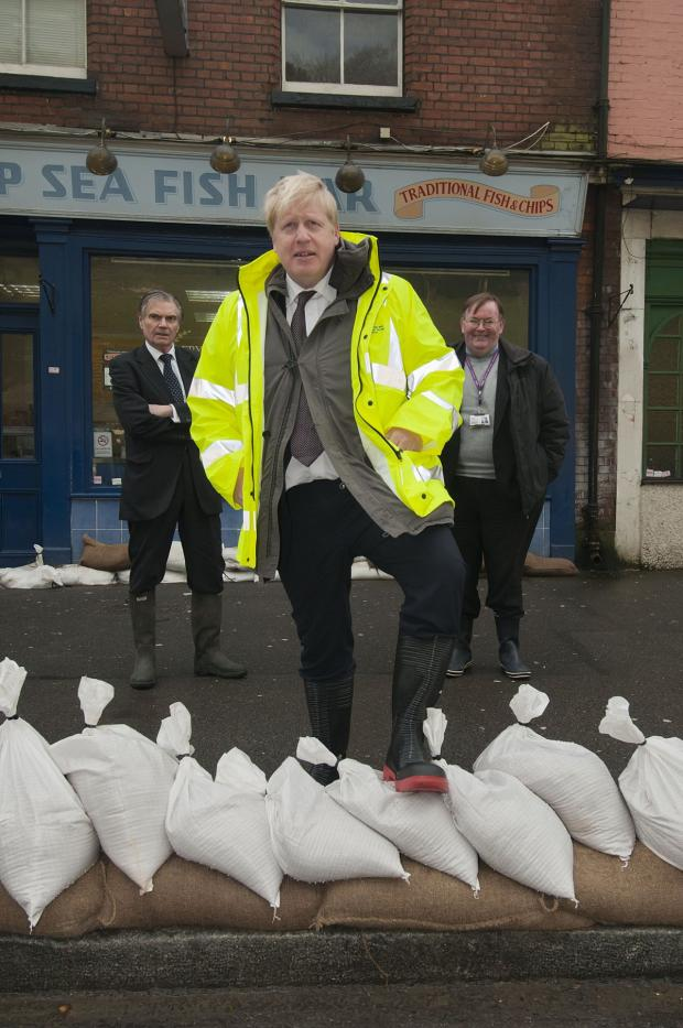 Croydon Guardian: The Mayor of London getting to grips with Kenley's flood defences