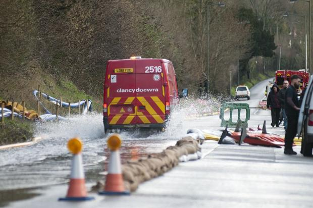 Croydon Guardian: Efforts are being made to pump flood water away from Kenley