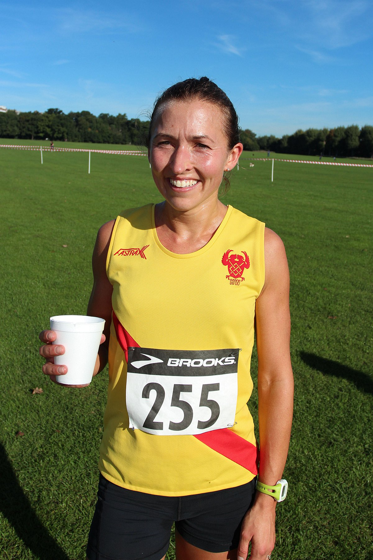 Top showing: Hercules Wimbledon's Claire Grima took second in the final meeting of the Surrey Ladies Cross-Country League on Saturday       SP79817