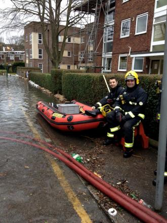 Bethany Taylor took this picture of firefighters in Godstone Road and we want to see your pictures. Email them to rfisk@london.newsquest.co.uk