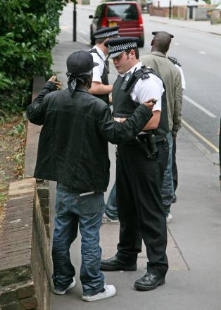 Stop and search is one of the tactics that has been used by police