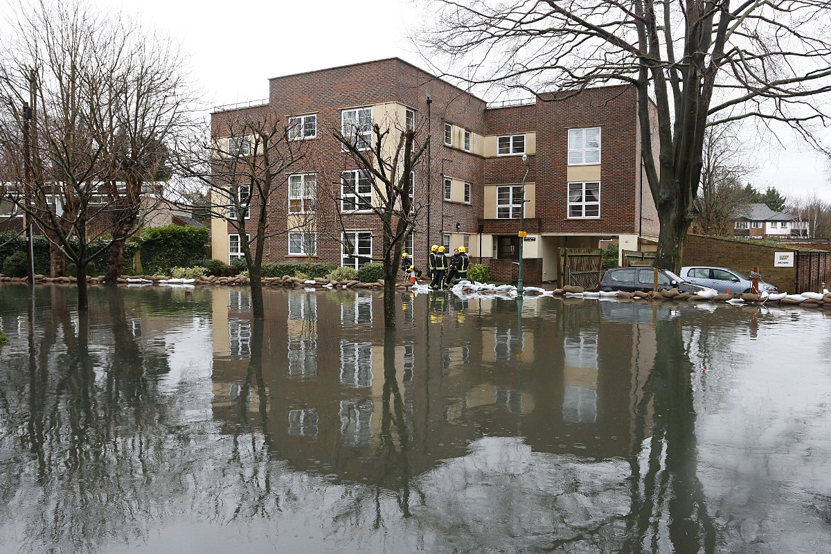 Parts of Croydon have been badly affected by the floods