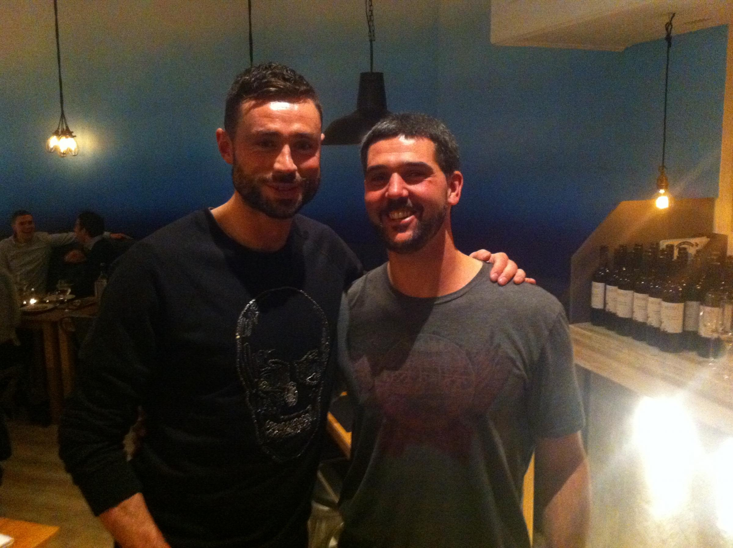 Julian Speroni and Eagles defender Delaney