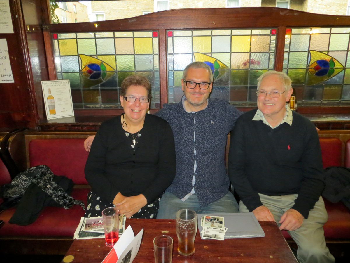 Carol and Ken Driscoll after being reuinted with son Dave