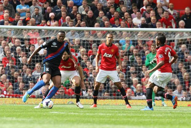 Crystal Palace take on Manchester United at Selhurst Park tomorrow