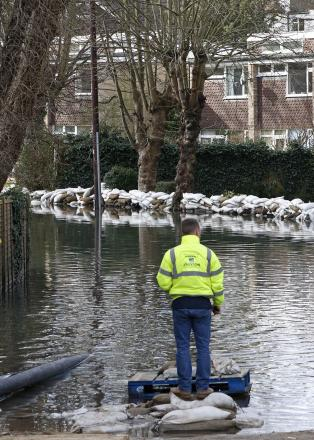 An advice centre has been opened in Purley to help people affected or worried about flooding