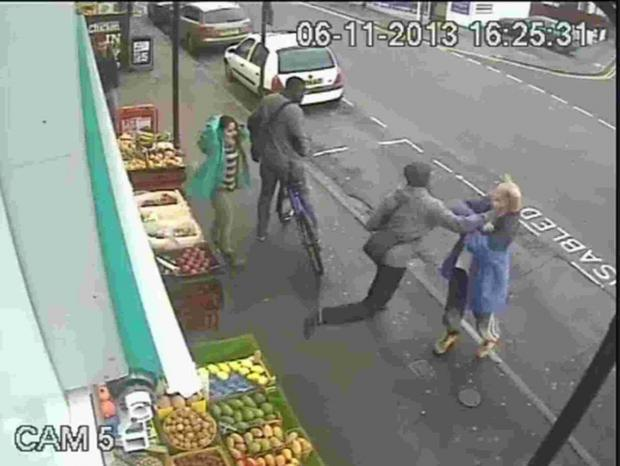 Croydon Guardian: DRAMATIC: CCTV footage of the moment Lewis Gill hit Andrew Young