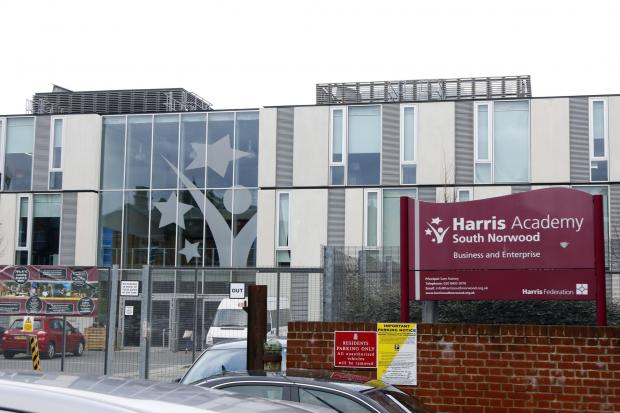 Harris Academy South Norwood saw the highest proportion of GCSE students leave
