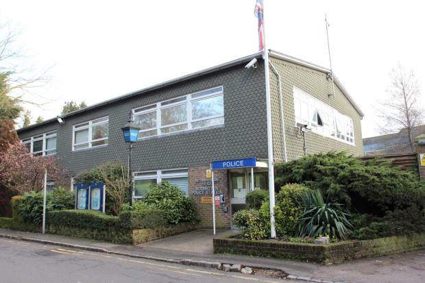 Addington police station where the incident happened