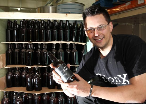 Mark Russell will be bringing his Cronx beer to an international conference in London