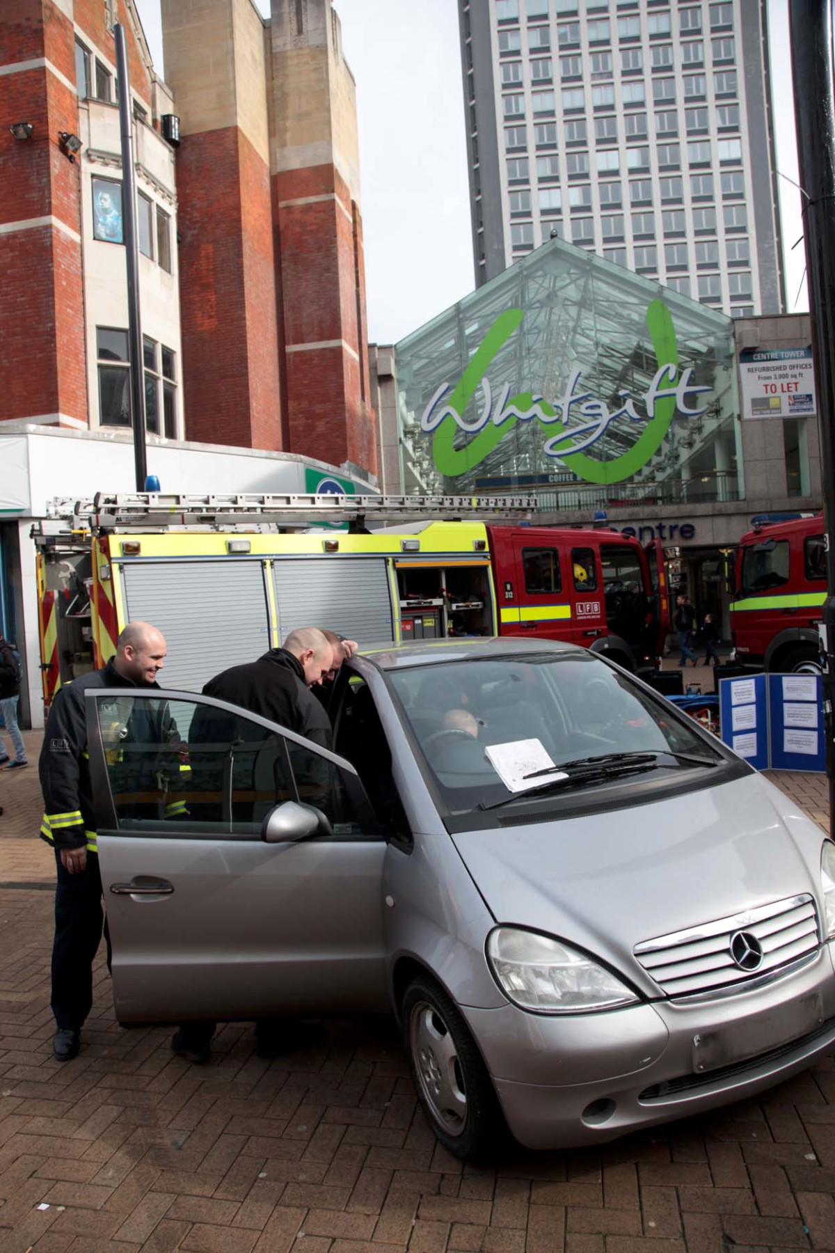 Firefighters showcase rescue skills in Croydon