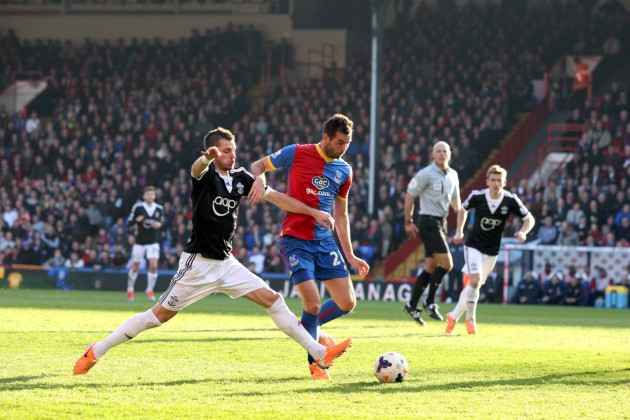 Croydon Guardian: Crystal Palace v Southampton - Selhurst Park - Premier League - March 10, 2014