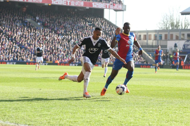 Croydon Guardian: Crystal Palace v Southampton - Selhurst Park - Premier League - March 8, 2014