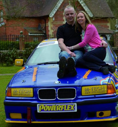 Car fanatic and multi-millonaire Neil Trotter with his partner Nicky Ottaway