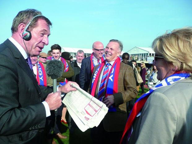 Croydon Guardian: Die hard Crystal Palace supporter Steve Preston is Sire De Grugy's owner