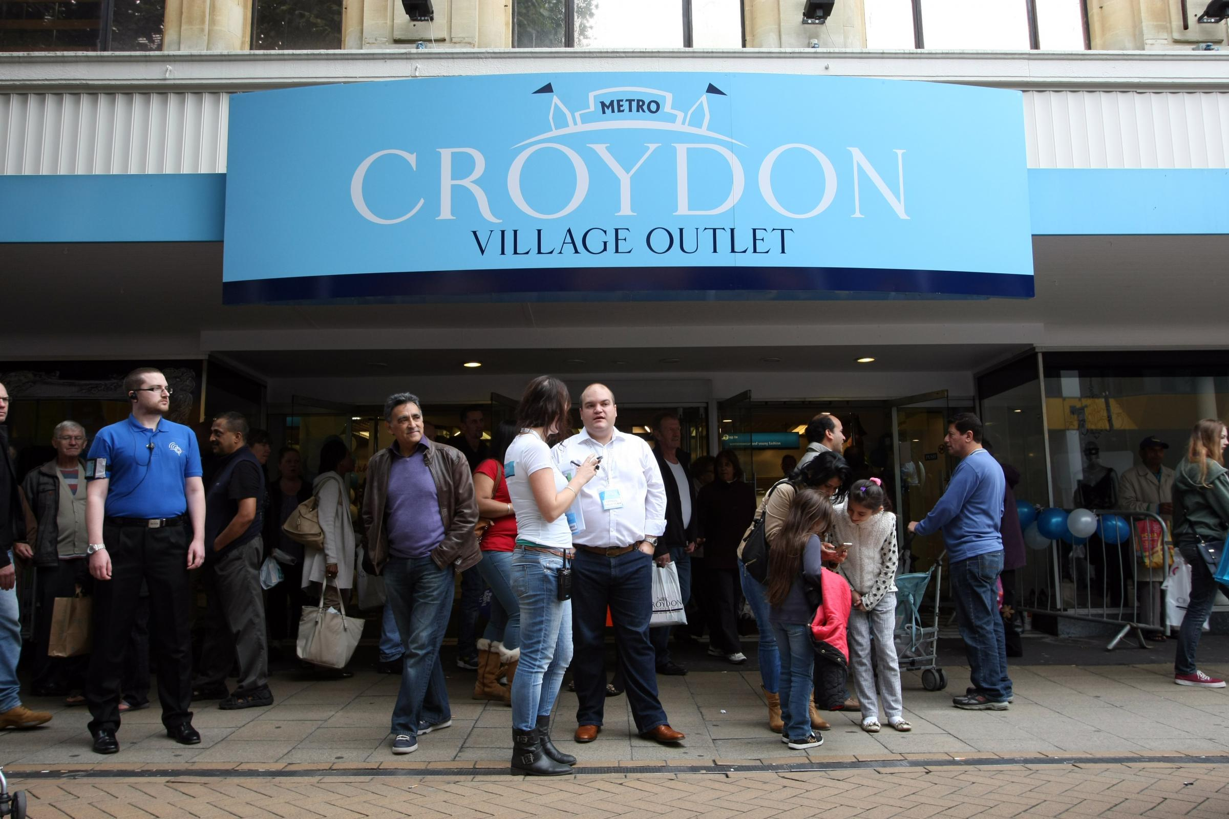 Croydon Village Outlet opened in September