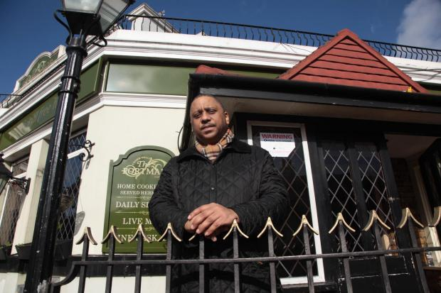 The Portmanor landlord Geoff Charles