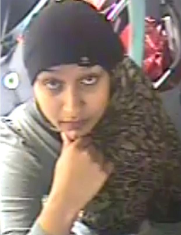 Croydon Guardian: Police have issued this CCTV picture of Madona Hamzie as part of their appeal