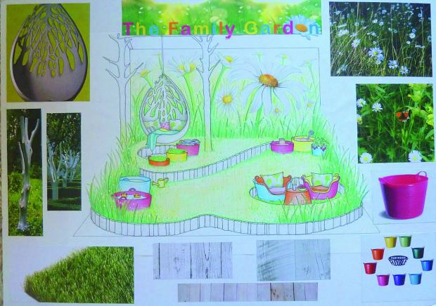 Croydon Guardian: Georgia Lindsay has designed a family friendly garden