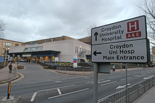 Croydon University Hospital staff are taking steps  to cut inpatient falls