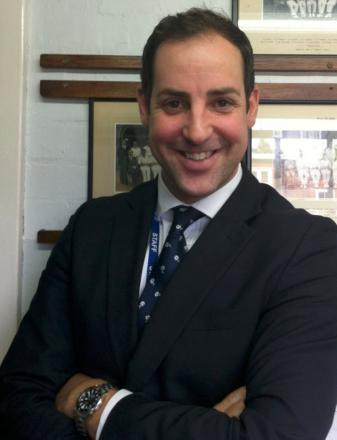 Wallington County Grammar School headteacher Jonathan Wilden