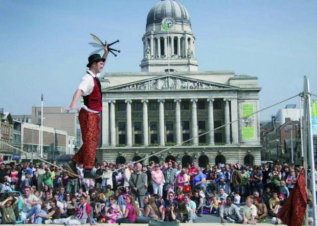 Croydon Guardian: Street entertainers