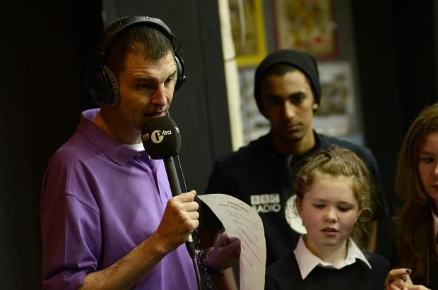 The stabbing took place at a Tim Westwood gig