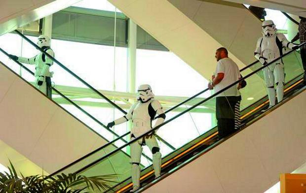 Croydon Guardian: The Stormtroopers were a sight to behold for Croydon's shoppers