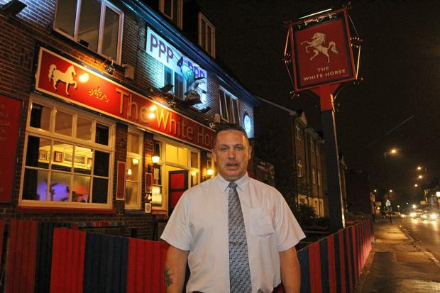 Croydon Guardian: Danny Foley has been the pub's landlord for six years