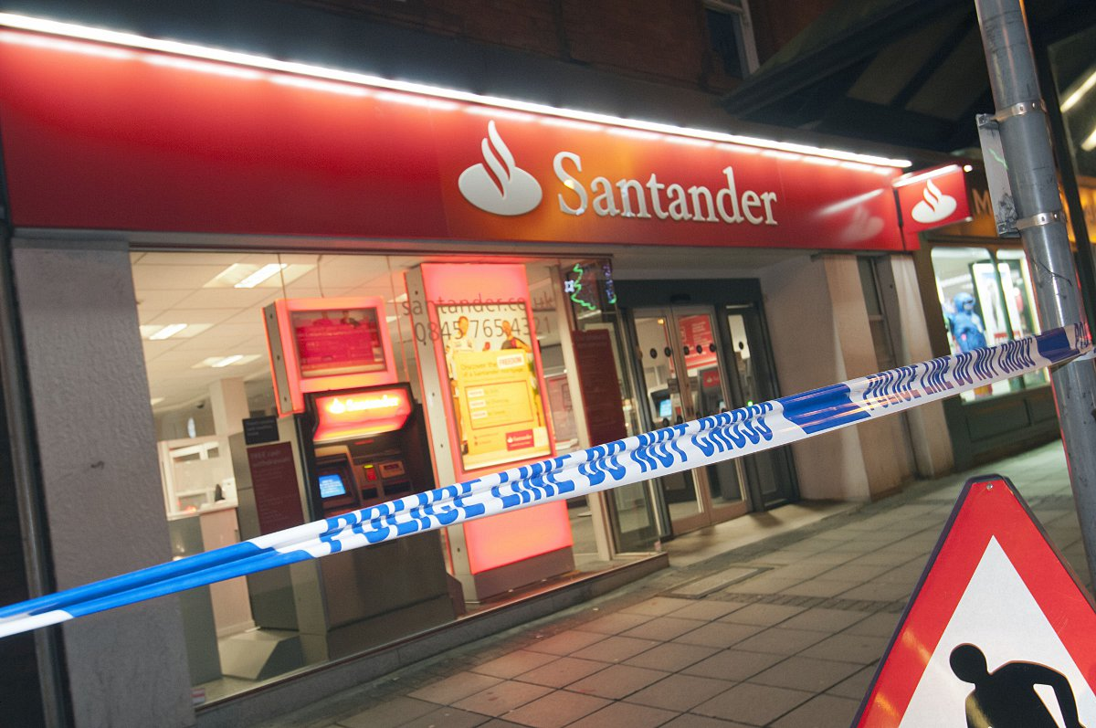 Carlos Ferreira was stabbed three times outside the Santander bank in Epsom High last November