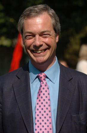 Nigel Farage is coming to Croydon this afternoon