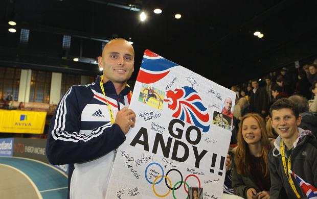 Fans' favourite: Andy Turner is hoping to defend his Commonwealth Games 100m hurdles title in Glasgow