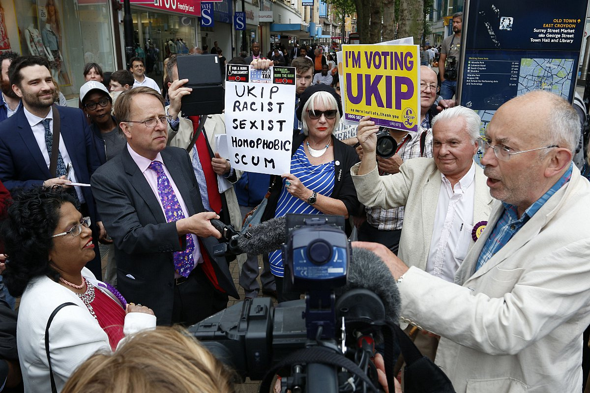 VIDEO: UKIP leader Nigel Farage denies 'bottling' Croydon carnival appearance